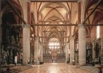 Церковь Frari - Внутреннее пространство