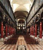 Церковь Carmini - Внутреннее пространство
