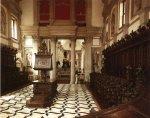 San Giorgio Maggiore - Взгляд с монашеского хора на главный неф