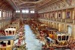 Музей старинных карет в Риме проводит день открытых дверей для маленьких посетителей