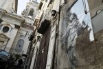 В Неаполе спасли единственную работу Бэнкси в Италии