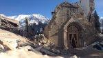 Подземные толчки частично обрушили церковь в итальянском Аматриче