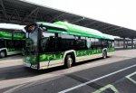В Милане запустили первый электрический автобус